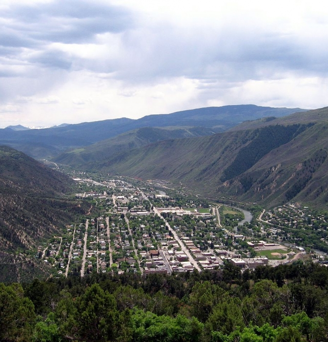 Downtown Glenwood Springs, Colorado