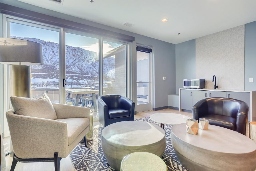 Beautiful Views from Six Canyon Apartments | Glenwood Springs