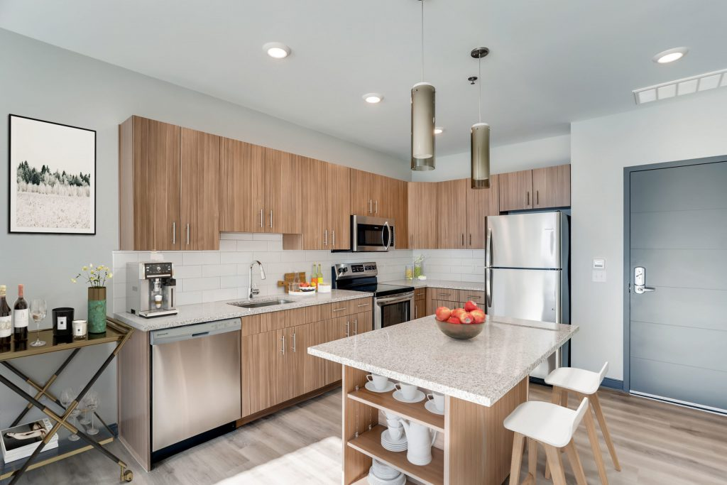 Stainless Steel Appliances and Granite Counter Tops | Six Canyon