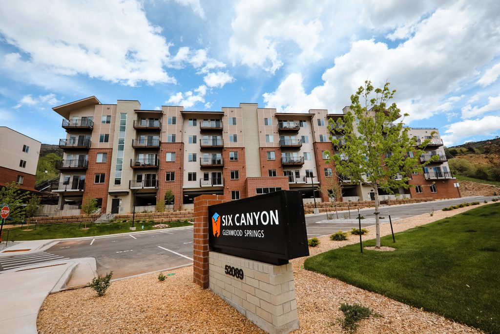 Six Canyon Apartments Signage